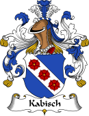 German Wappen Coat of Arms for Kabisch
