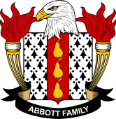 American Coat of Arms for Abbott
