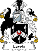 Irish Coat of Arms for Lewis