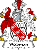 English Coat of Arms for Wadman