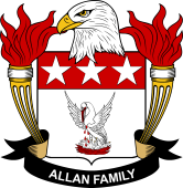 American Coat of Arms for Allan