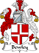 English Coat of Arms for Bewley