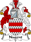 Irish Coat of Arms for Nugent