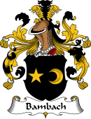 German Coat of Arms for Bambach