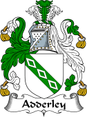 English Coat of Arms for Adderley