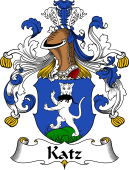 German Wappen Coat of Arms for Katz