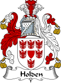 English Coat of Arms for Holden I
