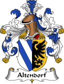 German Wappen Coat of Arms for Altendorf