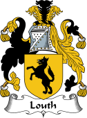 English Coat of Arms for Louth
