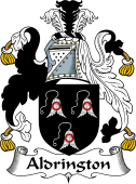 English Coat of Arms for Aldrington