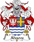 Portuguese Coat of Arms for Alvares