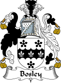 English Coat of Arms for Bosley
