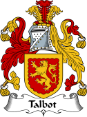 English Coat of Arms for Talbot I