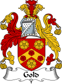 English Coat of Arms for Gold
