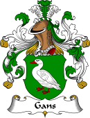 German Wappen Coat of Arms for Gans