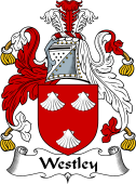 English Coat of Arms for Westley