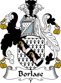 English Coat of Arms for Borlase