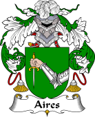 Portuguese Coat of Arms for Aires