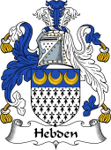 English Coat of Arms for Hebden