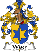 German Wappen Coat of Arms for Wiser