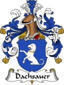 German Coat of Arms for Dachsauer