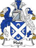 English Coat of Arms for Haig