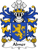 Welsh Coat of Arms for Almer (of Pant locyn, Denbighshire)