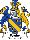 English Coat of Arms for Pollen or Paulin