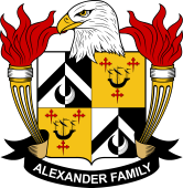 American Coat of Arms for Alexander