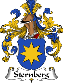 German Wappen Coat of Arms for Sternberg