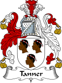 English Coat of Arms for Tanner
