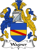 English Coat of Arms for Wagner
