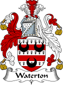 English Coat of Arms for Waterton