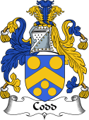 Irish Coat of Arms for Codd