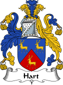 English Coat of Arms for Hart II