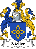 Irish Coat of Arms for Meller