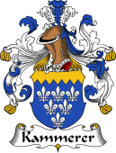 German Wappen Coat of Arms for Kammerer