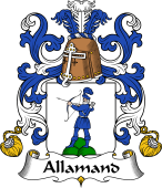 Coat of Arms from France for Allamand