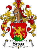 German Wappen Coat of Arms for Stoss