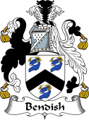English Coat of Arms for Bendish