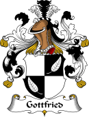 German Wappen Coat of Arms for Gottfried