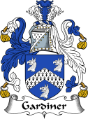 English Coat of Arms for Gardiner
