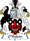 Irish Coat of Arms for O'Halpin I