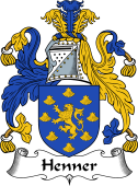 English Coat of Arms for Henner