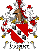 German Wappen Coat of Arms for Gassner