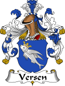 German Coat of Arms for Versen