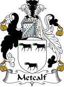 Irish Coat of Arms for Metcalf or Medcalf