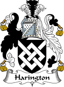 English Coat of Arms for Harington