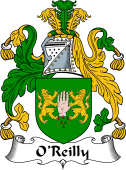 Irish Coat of Arms for O'Reilly or Riley