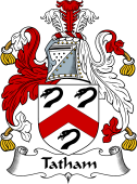 English Coat of Arms for Tatham